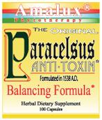 Paracelsus Anti-toxin, swedish bitters, Paracelsus