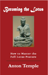proper Lotus position, becoming the lotus, anton temple, eastern meditation, franz bardon